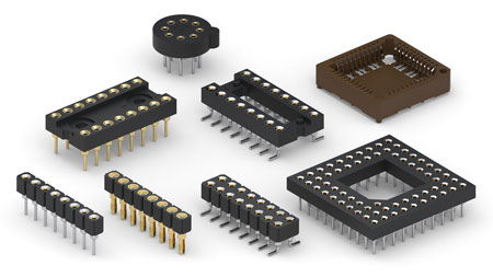 Integrated Circuit (IC) Sockets