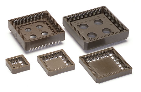 SMT and Through-Hole PLCC Sockets