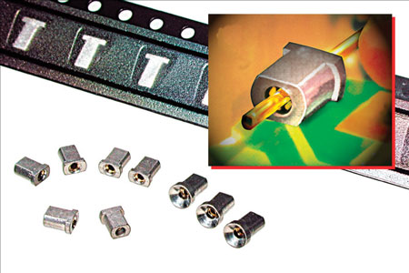 Horizontal Mount Pin Connectors, used for Right Angle Interconnects