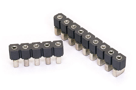 Surface Mount Single In Line (SIL) Sockets