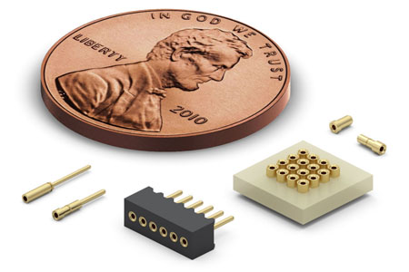 Miniature Receptacles for Diverse Fine-Pitch Applications