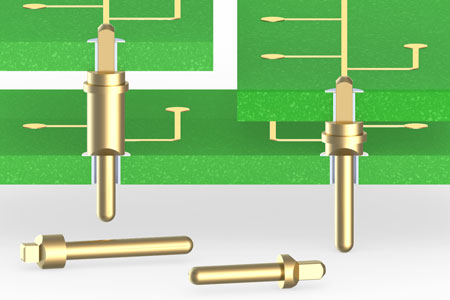 New Press-Fit PCB Pins for Plated-Through Holes