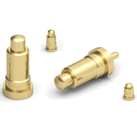 Rugged Large Scale Spring-Loaded (Pogo) Pin Contacts