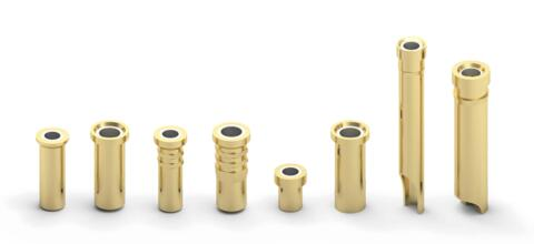 Pin Receptacles For LED Applications