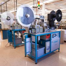 Mill-Max Mfg. Corp. Tape Forming Equipment